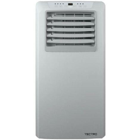 Qlima Climatiseur mobile humidificateur air blanc roues TP2020