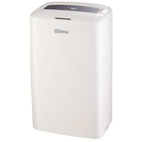 Qlima Déshumidificateur purificateur d'air portatif minuterie maison 50-75 m3 D612