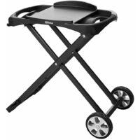 Qlima Folding Barbecue Trolley Black PC/PG 10