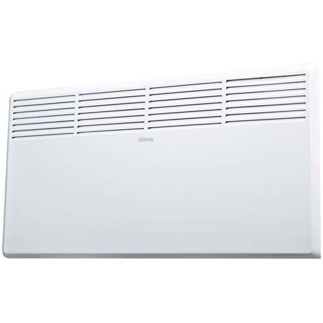 Qlima Panel calefactor eléctrico 1800 W blanco EPH1800 LCD - Blanco