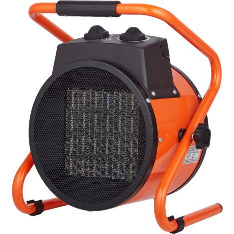 Qlima Termoventilatore elettrico portatile termoconvettore 3000W EFH 6030