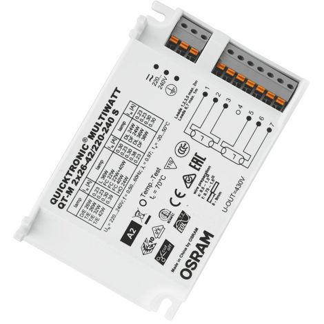 QT-M 2X26-42/220-240 S VS20 OSRAM LEDVANCE 4008321110022