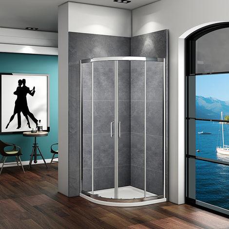 Quadrant Shower Enclosure Walk In Corner Cubicle Door