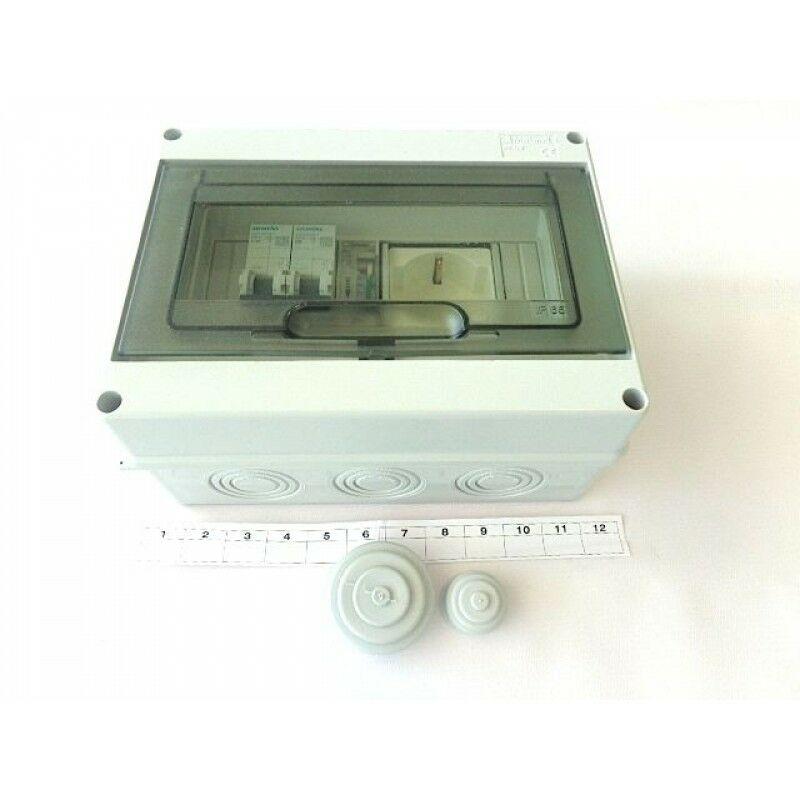Schema Elettrico Per Piscina : Quadro elettrico preassemblato per piscine fuoriterra o interrate