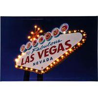 Quadro LED Las Vegas LED Bianco caldo Heitronic Las Vegas 34083 Colorato