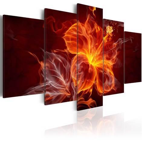 Quadro - Malva ardente100x50 cm