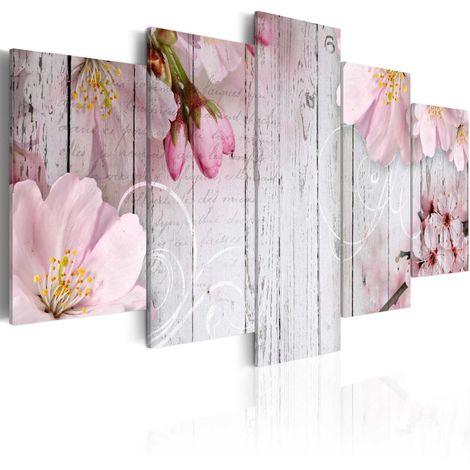 Quadro Sottigliezza dei fiori cm 100x50 Artgeist