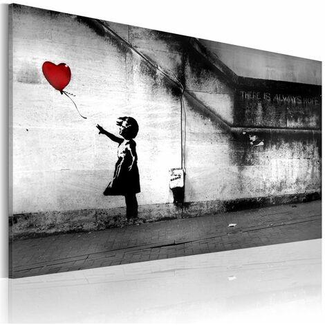 Quadro speranza Banksy cm 60x40 Artgeist