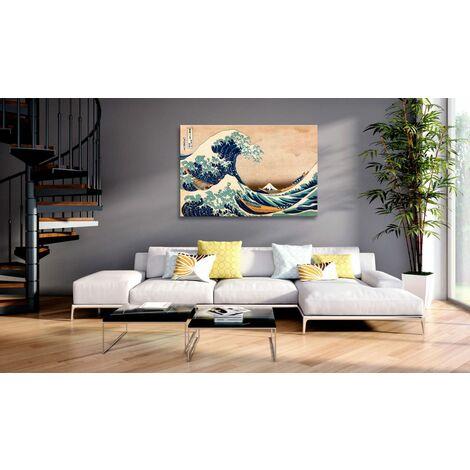 Quadro The Great Wave off Kanagawa Repro cm 120x80 Artgeist