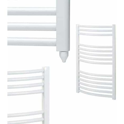 Qual-Rad Heated Towel Rail For Central Heating