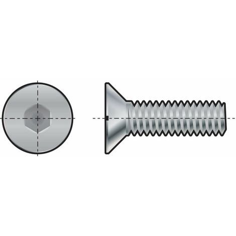 """main image of """"Socket Head Countersunk Screw, Metric, M8"""""""