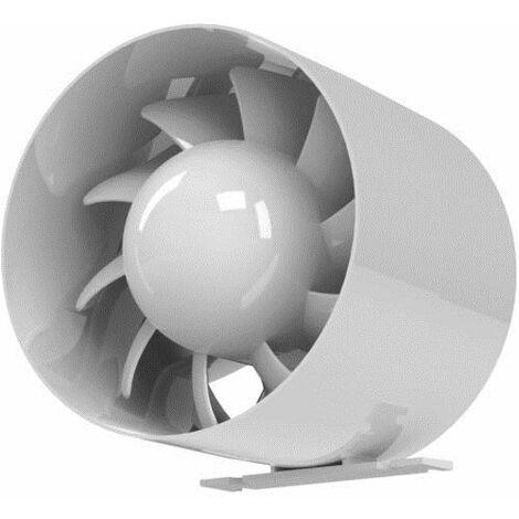Qualité hotte système de ventilation de 150 mm à l'arc axial conduit de canalisation