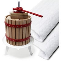 Quality 12L Fruit Press Apple Wine Cider incl 3 pulp bags