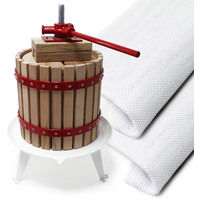 Quality 18L Fruit Press Apple Wine Cider incl 3 pulp bags