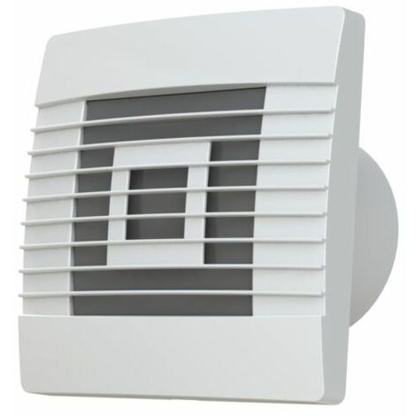 Quality Wall Extractor Fan 100mm Standard with Gravity Shutters