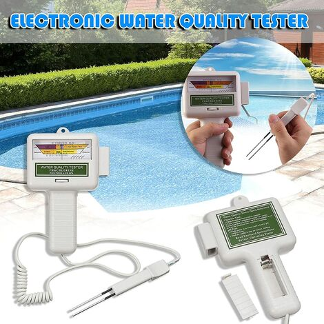 Quality Water Tester, Portable Digital Monitor, Portable 2 in 1 quality Water PH CL2 Chlorine Level Tester Level Meter, Ph Water Tester Analysis Chlorine Swimming Pool Test Kit