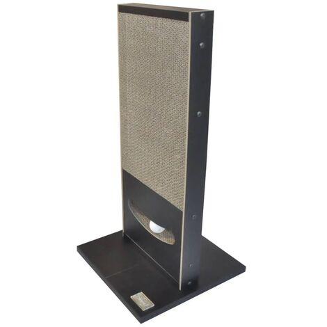Quapas! Cat Scratching Post Play Black 30x30x60 cm