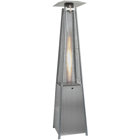 Quartz Glass Tube Real Flame 13KW Gas Garden Outdoor Patio Heater