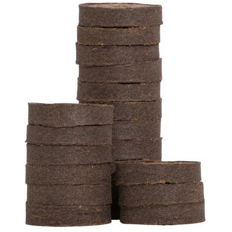 Quelltabletten aus Kokos für Anzucht - 20 Stück