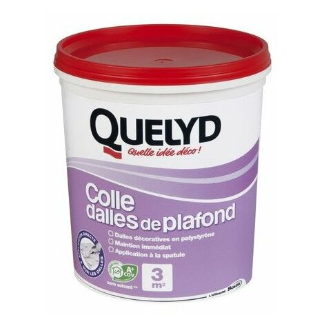 QUELYD COLLE DALLE PLAFOND 1KG (Vendu par 1)