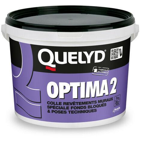 Quelyd Colle murale blanche Optima2 - 5 Kg - QUELYD