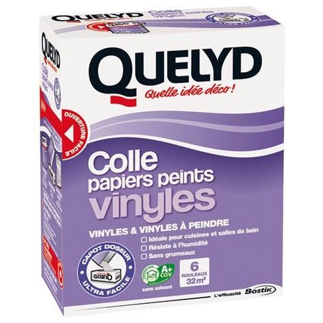 QUELYD - Colle papiers peints vinyles - 300 g
