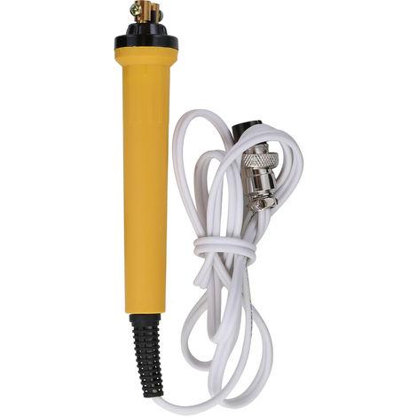 Quemador de madera pirograbado Pen maquina de quemar Calabaza Crafts Conjunto de herramienta con la soldadura alambre superior de temperatura ajustable