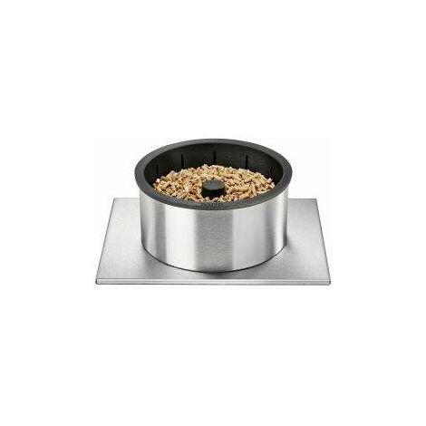 """main image of """"Quemador de pellets Q20 para insertar y recibir leños de 40 a 55 cm."""""""