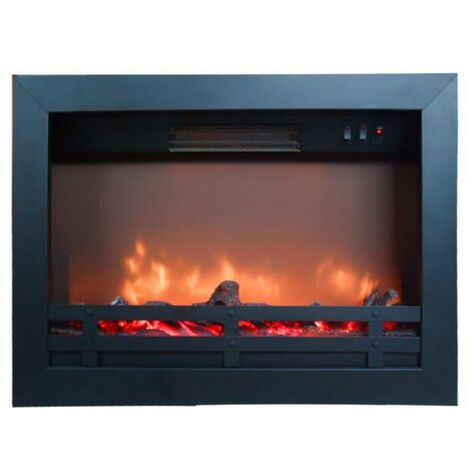 """main image of """"Quemador eléctrico Flandria Rubyfires cm 60,2x17,7x43,8 Xaralyn FLANDRIA - Negro"""""""
