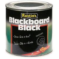 Quick Dry Blackboard Black