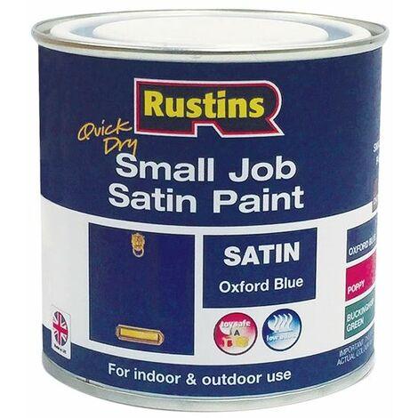 Quick Dry Small Job Gloss Paint Oxford Blue 250ml RUSSJPOXBQD