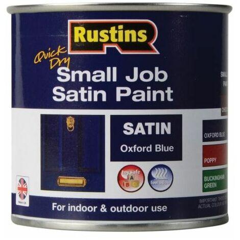 Quick Dry Small Job Satin Paint Oxford Blue 250ml (RUSSJPSOXBQD)