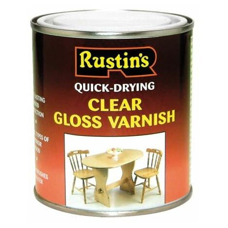"""main image of """"Quick Dry Varnish Gloss Clear 1 Litre RUSQDVGC1L"""""""