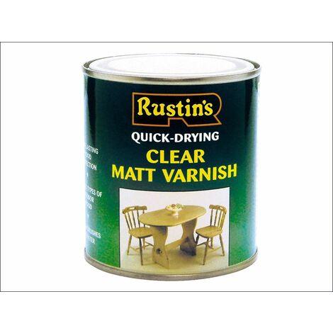 "main image of ""Quick Dry Varnish Matt Clear 1 Litre RUSQDVMC1L"""