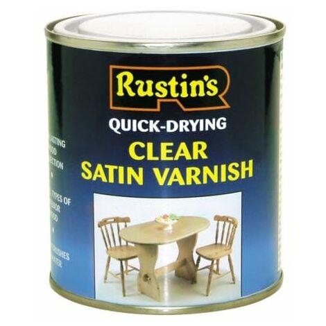 "main image of ""Quick Dry Varnish Satin Clear 1 litre RUSQDVSC1L"""