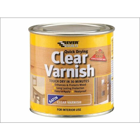 Quick Dry Wood Varnishes