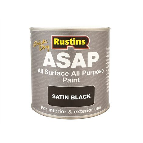 Quick-Drying All Surface All Purpose (ASAP) Paint