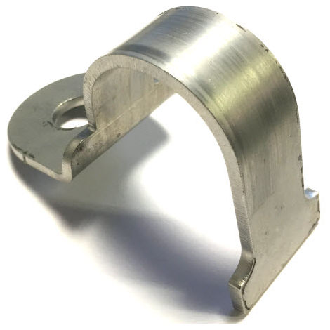 50 mm NB//60.3 mm OD Pipe Heavy Duty 2 bolt pipe clip Galvanised 62 mm ID