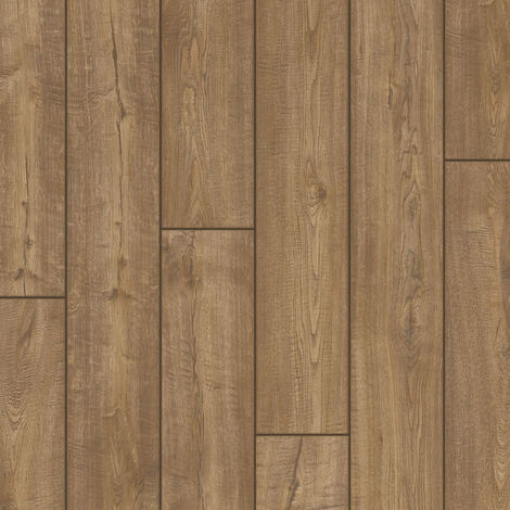 "Quick-Step Impressive ""IM1850 Chêne aspect vieilli gris brun monolames"" - 19 cm x 138 cm"