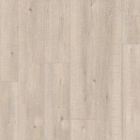 """Quick-Step Impressive """"IM1857 Chêne aspect raboté beige monolames"""" - 19 cm x 138 cm"""