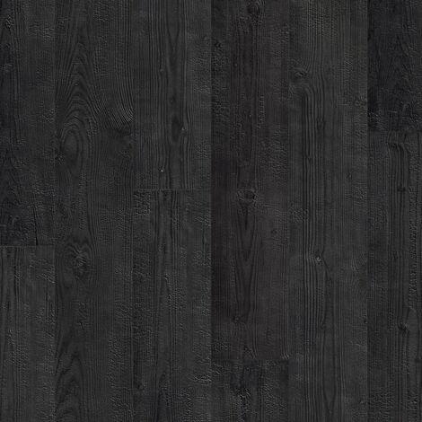 """Quick-Step Impressive """"IM1862 Planches aspect brûlé monolames"""" - 19 cm x 138 cm"""