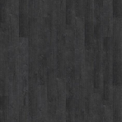 """Quick-Step Impressive Ultra """"IMU1862 Planches aspect brûlé monolames"""" - 19 cm x 138 cm"""