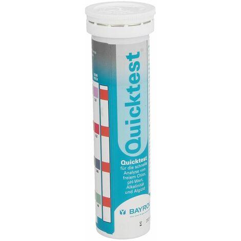 Quicktest bandelettes pH