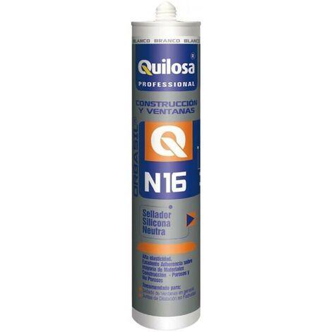 Quilosa Construction Silicone Neutre 300 Ml Translucide 98392
