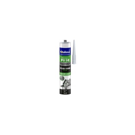 Quilosa Professionnal - Cartouche Mastic colle polyuréthane 300 ml gris - 6571110