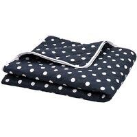 Quilt Dark Blue 170x210 cm Ultrasonic Fabric