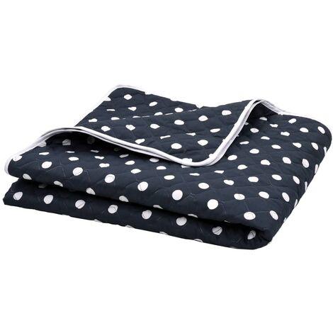 Quilt Dark Blue 220x240 cm Ultrasonic Fabric