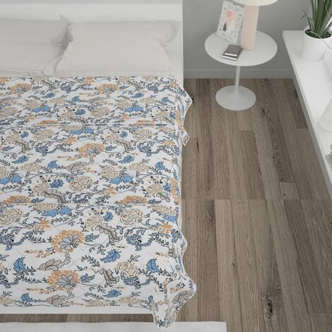 Quilt Multicolour 170x210 cm Ultrasonic Fabric