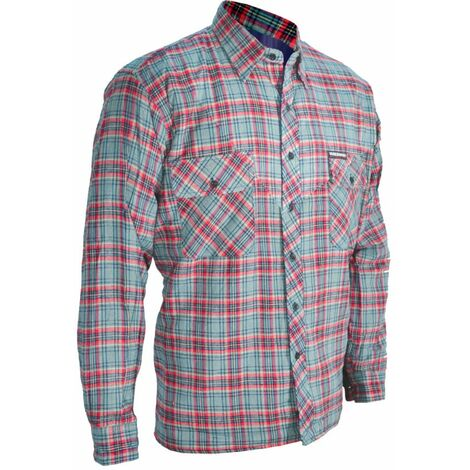 Quilted Checked Work Shirt