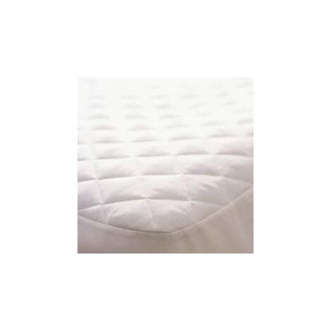 Quilted mattress protector - super king bed size